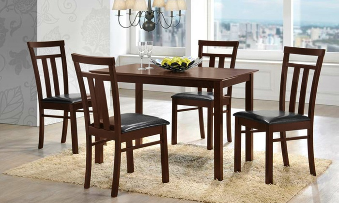 4 Seater or 6 Seater Dining Set Groupon Goods : c700x420 from www.groupon.ae size 700 x 420 jpeg 108kB