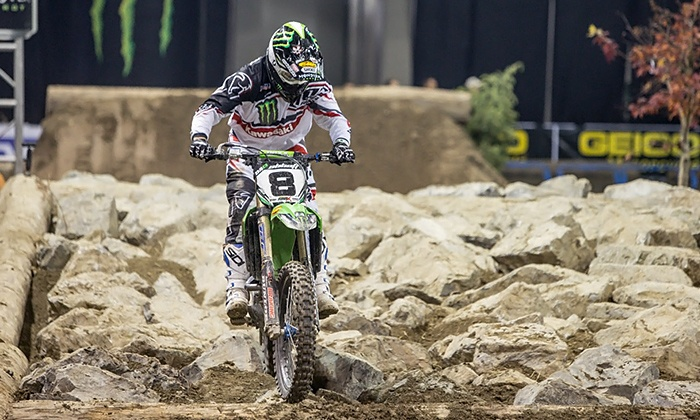 Geico Endurocross - Sleep Train Arena: Geico Endurocross Motorcycle Race at Sleep Train Arena on Saturday, June 21 at 7:30 p.m. (Up to 56% Off)