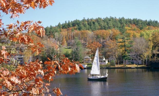 Sunapee Lake Lodge - Newbury, New Hampshire: Stay at Sunapee Lake Lodge in Newbury, NH, with $20 Resort Credit per Night. Dates into December.