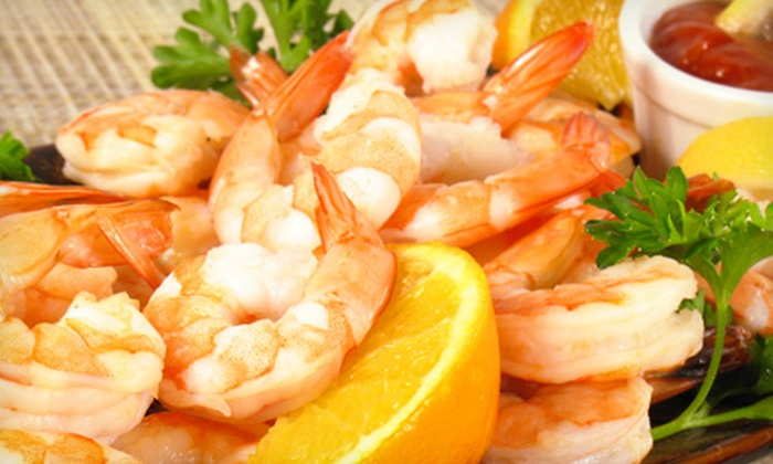 The Fish Market Restaurant - Hoover (Greystone): Gourmet Seafood for Catering, Lunch, or Dinner at The Fish Market Restaurant (Up to 53% Off)