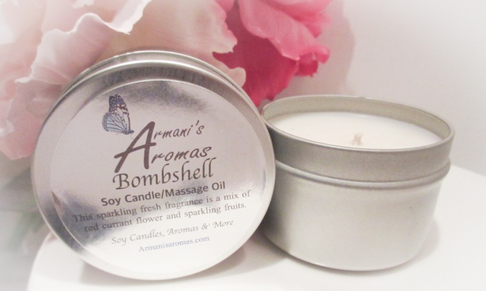 Armani's Aromas - Fort Lauderdale: $25 for $45 Worth of Soy Wax Candles — Armani's Aromas