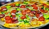 Empire Pizzeria - South Miami: $10 for $20 Worth of Italian, American, and Mediterranean Cuisine at Empire Lounge & Pizzeria