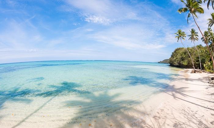 Tropical Island Beach Ambience Sound: Mango Bay Resort Fiji
