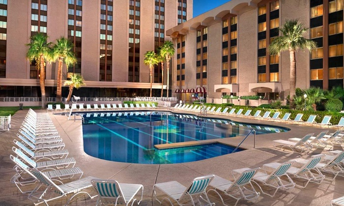 The Riviera Hotel & Casino - The Strip: Two-Night Stay for Two with Drink Vouchers and Comedy-Show Tickets at The Riviera Hotel & Casino in Las Vegas, NV
