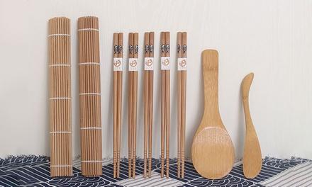 Kit in bambù per sushi
