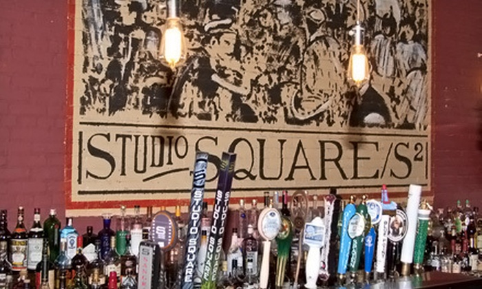 Studio Square NYC - The Garden at Studio Square: $10 for $20 Worth of American Food and Drinks in the Grill or at the Bar at Studio Square NYC