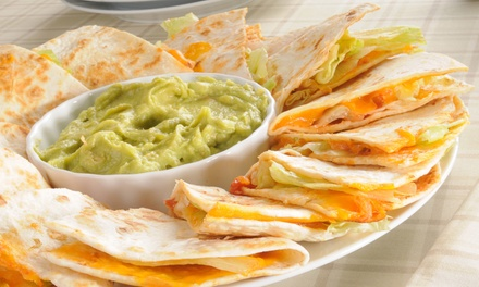 $11  for $20  Worth of Mexican Food and Drinks at La Perla