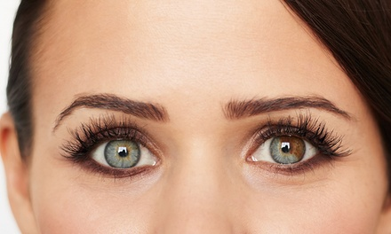 Mink or Silk Eyelash Extensions at Lashes by Ashli at FX Salon & Spa (Up to 50% Off). Two Options Available.