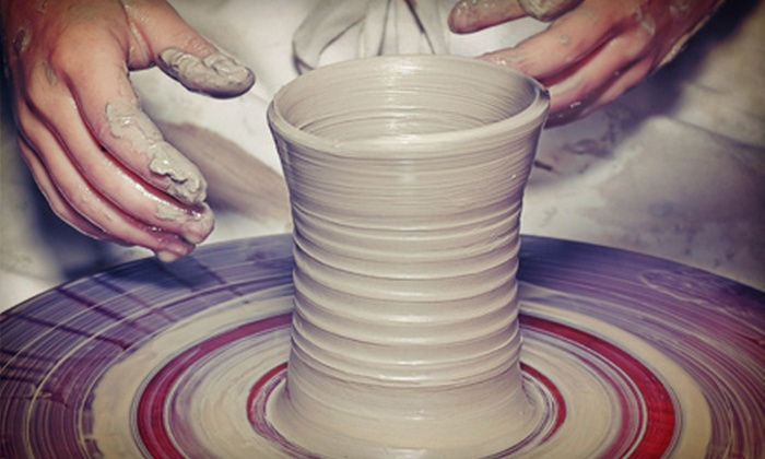 Cup O' Pottery - Oviedo: Two-Hour Wheel-Throwing-Pottery Class for One or Two at Cup O' Pottery (Up to 53% Off)