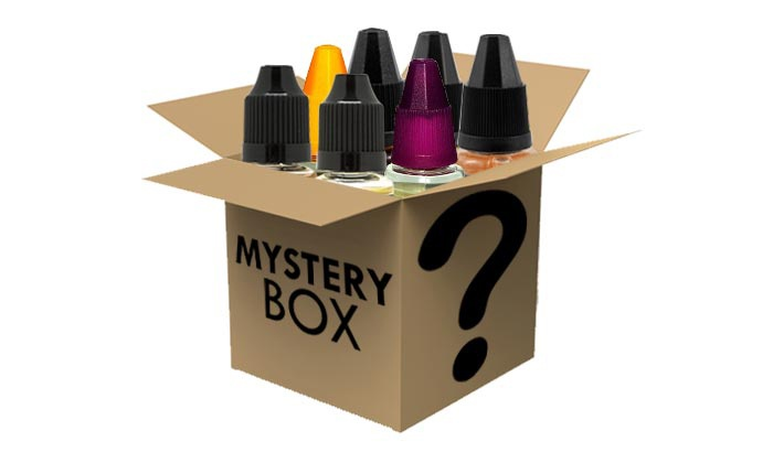 E-Liquid Sampler from Walking Vaped Mystery Deal: E-Liquid Sampler from Walking Vaped Mystery Deal