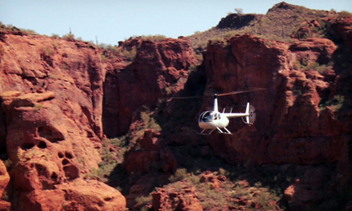 SkyBlue Helicopters LLC - North Scottsdale: $299 for Helicopter Tour and Flight Instruction for Three from SkyBlue Helicopters LLC ($657 Value)