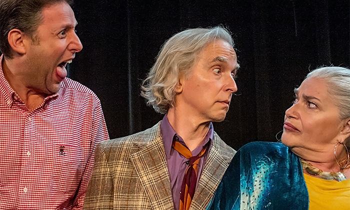 """Old Jews Telling Jokes"" - Penn's Landing Playhouse : ""Old Jews Telling Jokes"" at Penn's Landing Playhouse, October 8–31 (Up to 37% Off)"