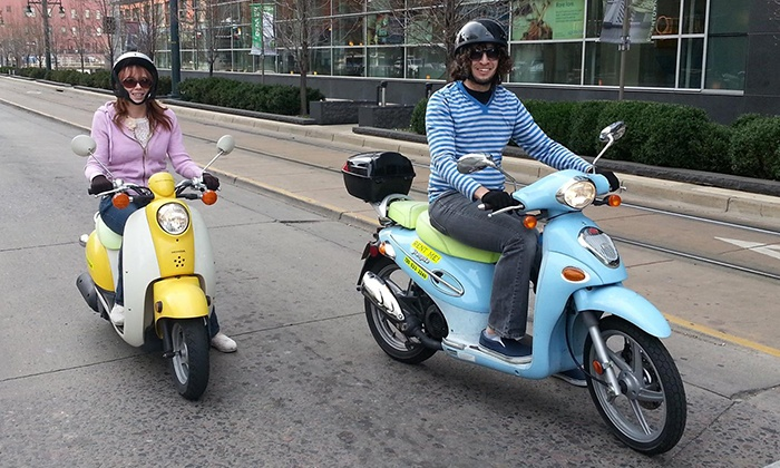 ScooTours Denver - Denver: Three-Hour Scooter Rental for Two or Four from ScooTours Denver (Up to 53% Off)
