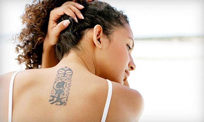Satin Med Spa - Foxcroft: Three Laser Tattoo-Removal Sessions at Satin Med Spa (Up to 86% Off). Four Options Available.