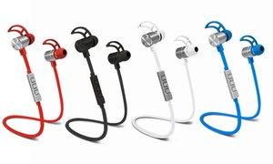 Pom Gear Pro2go Wireless Bluetooth Nfc Noise-canceling Earbuds