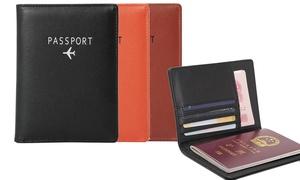 Protège-passeport unisexe