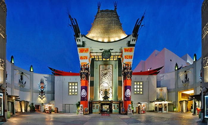 TCL Chinese Theatre and Chinese 6 Theatres - Multiple Locations: $25 for Two Tickets, One Popcorn, and Two Sodas at TCL Chinese Theatre and Chinese 6 Theatres (Up to $51.40 Value)
