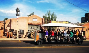 Tour De Tavern: $25 for One Seat on a Pedaling Tour of Old Scottsdale from Tour De Tavern ($50 Value)