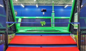 Rebounderz of Hurst: Two or Four One-Hour Jump Passes at Rebounderz of Hurst (Up to 54% Off)