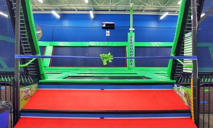 Two or Four One-Hour Jump Passes at Rebounderz of Hurst (Up to 42% Off)