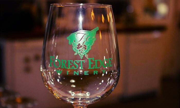 Forest Edge Winery - Shepherdsville: Winery Tour and Wine Tasting for Two or Four with Souvenir Glasses at Forest Edge Winery (Up to 53% Off)