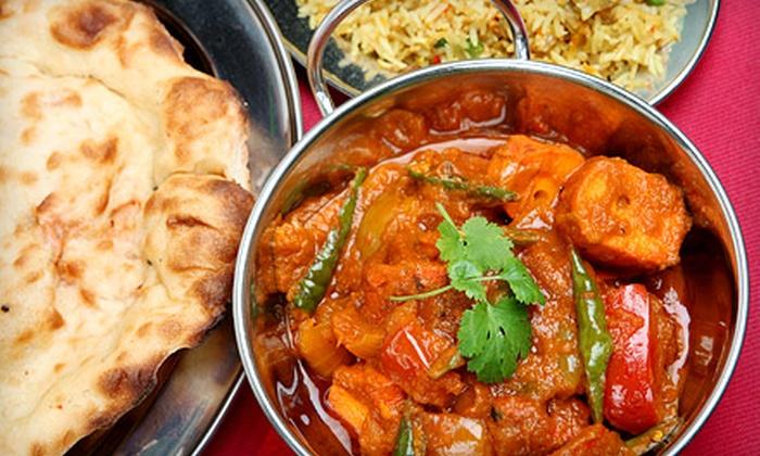 Namaste India - Southington: Indian Cuisine at Namaste India (Half Off). Two Options Available.