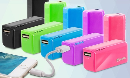 Aduro PowerUp Pocket 2,600mAh USB Backup Battery
