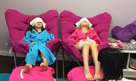 Lil' Diva BFF Spa Day for One, Two, or Four or Spa Party for 10 Girls at Lil Diva's Spa (Up to 76% Off)