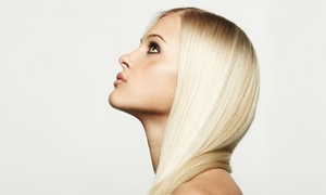 Entourage Hair Gallery: Haircut with Optional Partial or Full Highlights at Entourage Hair Gallery (Up to 58% Off)