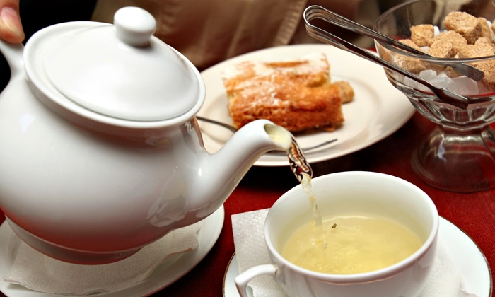 Terra Tea Salon - Montclair Public Library: Full-Service Afternoon Tea for Two or Four from Terra Tea Salon at Montclair Public Library (Up to 52% Off)