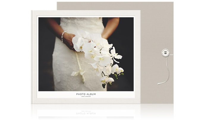 MILK Books: One or Two Custom Wedding Photo Albums from MILK Books (Up to 60% Off)