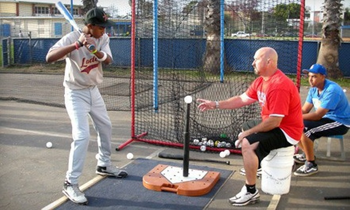 U.S. Baseball Academy - Linden: $65 for Four-Week Session with Six Hours of Outdoor Baseball Instruction at the U.S. Baseball Academy ($139 Value)