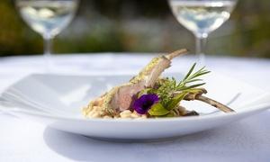 Don Camillo: Menu Fin Gourmet franco-italien en 4 services pour 2 ou 4 personnes dès 39,99 € au restaurant le Don Camillo