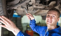 55-Point Car Service with an Oil and Filter Check Plus an Optional Engine Diagnostic Check at CWC Service and Tyres