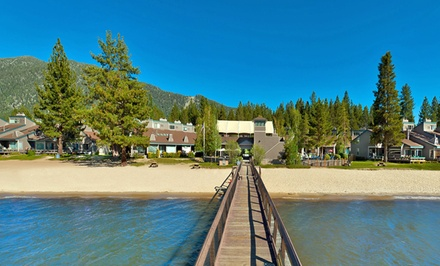 groupon daily deal - 1-Night Stay for Up to Six at Aston Lakeland Village Resort in South Lake Tahoe, CA. Combine Up to 2 Nights.