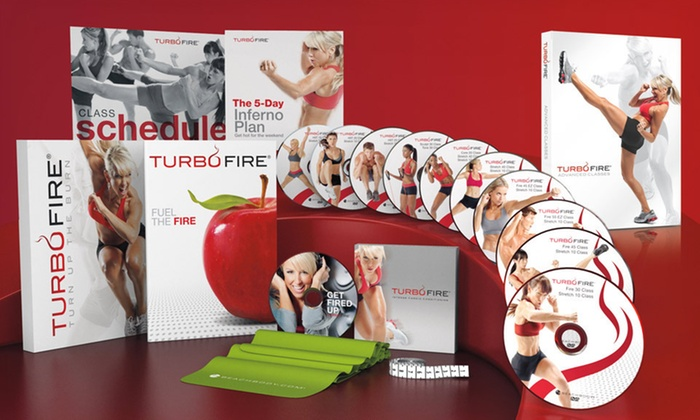 TurboFire Cardio Conditioning Program by Chalene Johnson: $59 for TurboFire 90-Day Cardio-Conditioning Program ($144.65 List Price). Free Shipping and Free Returns.