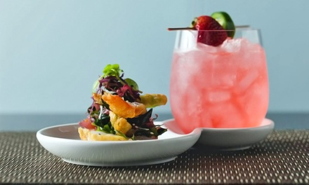 Prix Fixe New American Lunch, Brunch with Mimosas, or Dinner for Two at D Bar San Diego
