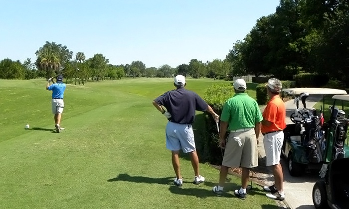 Winter Pines Golf Club - Golfside: 18-Hole Rounds of Golf for Two or Four with Cart Rental and Large Range Ball Bags (Up to 43% Off)