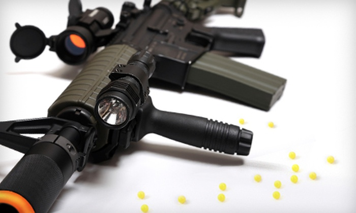Tac-Ops Indoor Airsoft - Parkrose: $11 for Five Airsoft Missions with Equipment and 200 BBs at Tac-Ops Indoor Airsoft ($22 Value)