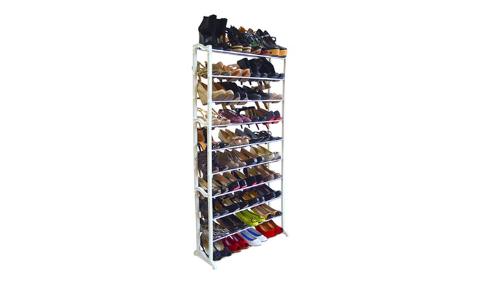 ... 20 , 40 , Or 50 Pair Shoe Rack: ...