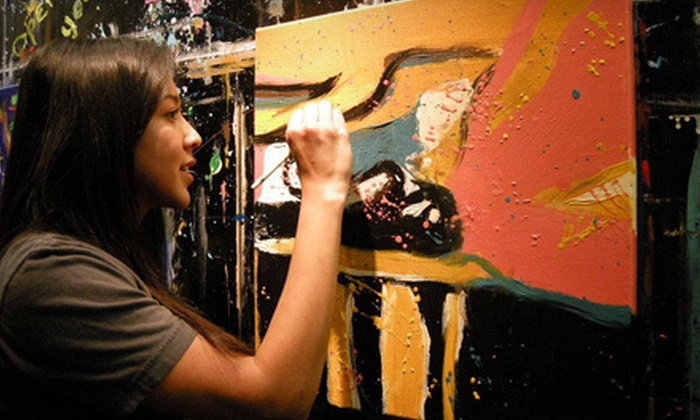 Art Class Dallas - West Dallas: $35 for a One-Hour BYOB Group Painting Workshop at Art Class Dallas ($79 Value)