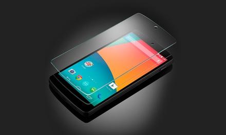 Google Nexus 4 ou 5 desde 179€ ou com opção de protetor de ecrã de vidro temperado desde 189€