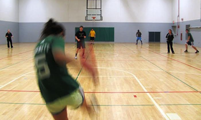S3 Simply Social Sports Leagues - Clarendon Park Gym: Indoor Kickball for a Man, Woman, or Team from S3 Simply Social Sports Leagues (Up to 53% Off)