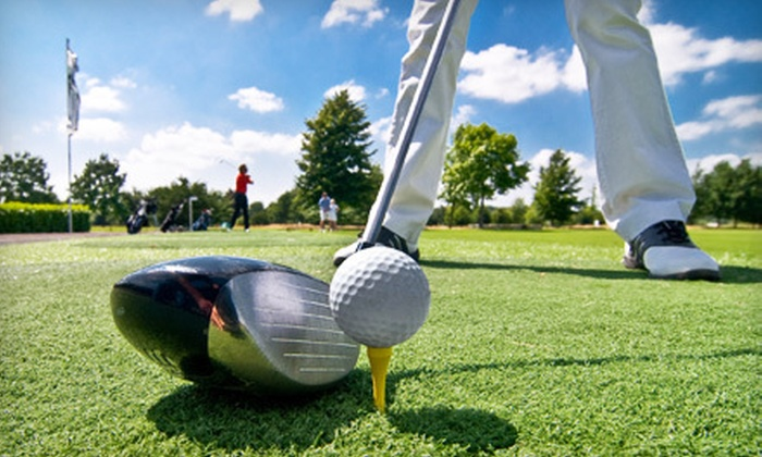 Greens of Howard Lake - Middleville: $29 for a Golf Outing with Cart and Range Balls for Two at Greens of Howard Lake (Up to $59 Value)
