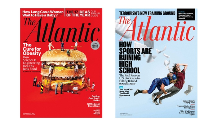 1-Year, 10-Issue Subscription to The Atlantic Magazine: 1-Year, 10-Issue Subscription to The Atlantic Magazine