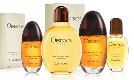 Calvin Klein Obsession for Men Eau de Toilette or Women Eau de Parfum from $22.99-$31.99