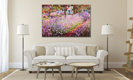 Claude Monet Prints on Gallery-Wrapped Canvas
