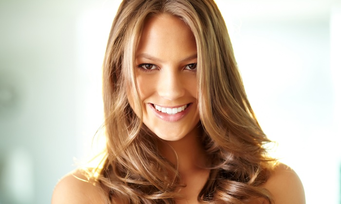 Beauty Concepts - Aurora: Haircut Package with Optional Partial Highlights at Beauty Concepts (Up to 56% Off)