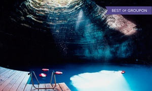 The Crater at Homestead Resort: 40-Minute Bath or Swim in Natural Mineral Water for 2, 4, or 6 at The Crater at Homestead Resort (Up to 38% Off)