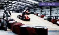 15-Minute Karting Experience for Up to Four at The Zone Extreme Activity Centre, Two Locations (Up to 55% Off)
